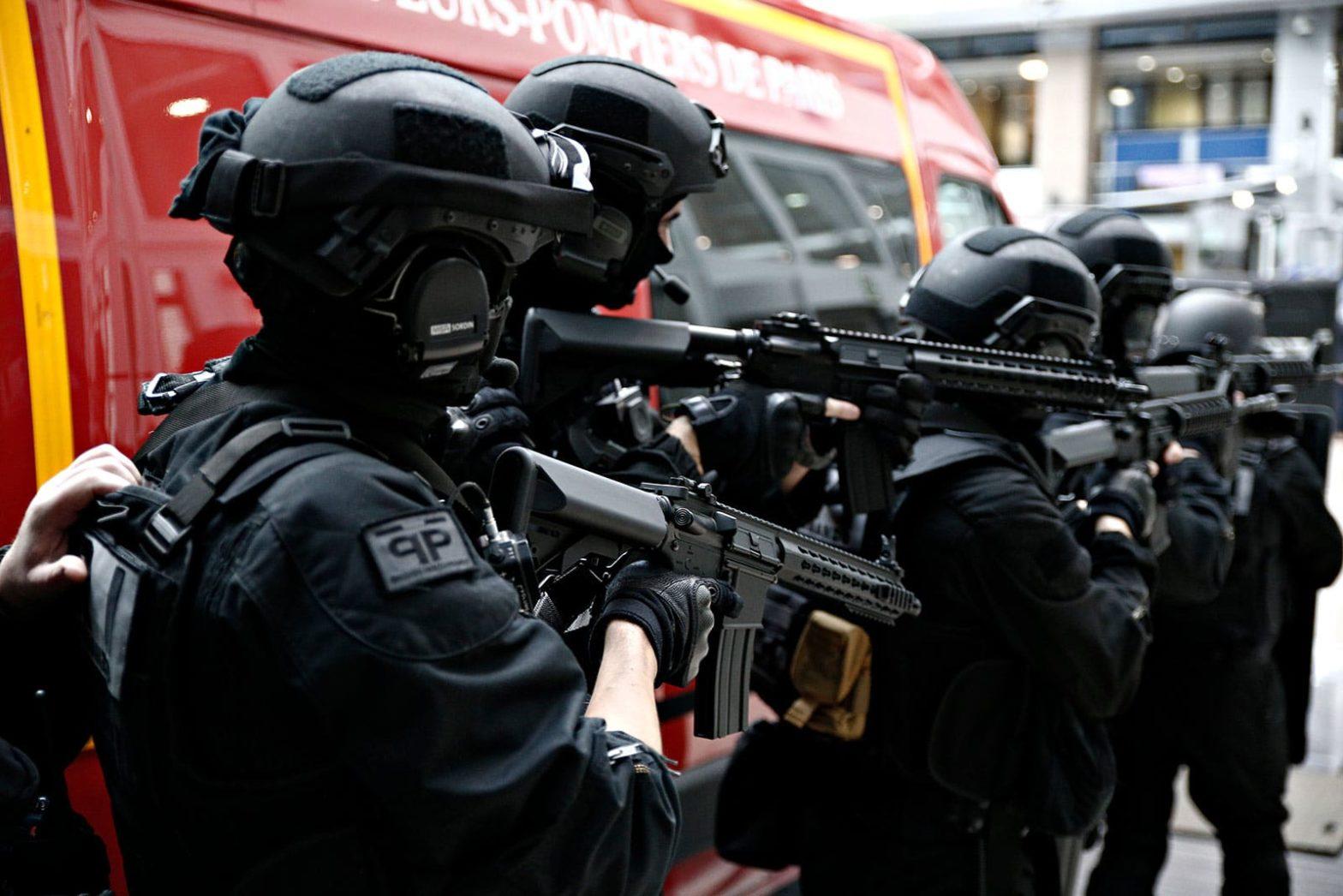 European anti terrorist police