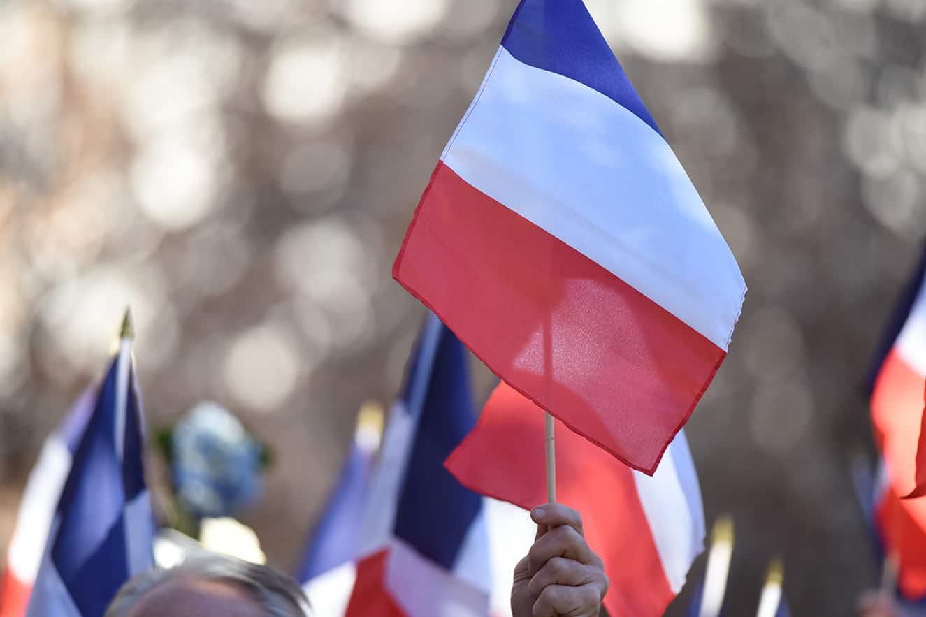 Terrorism France Paris Flag