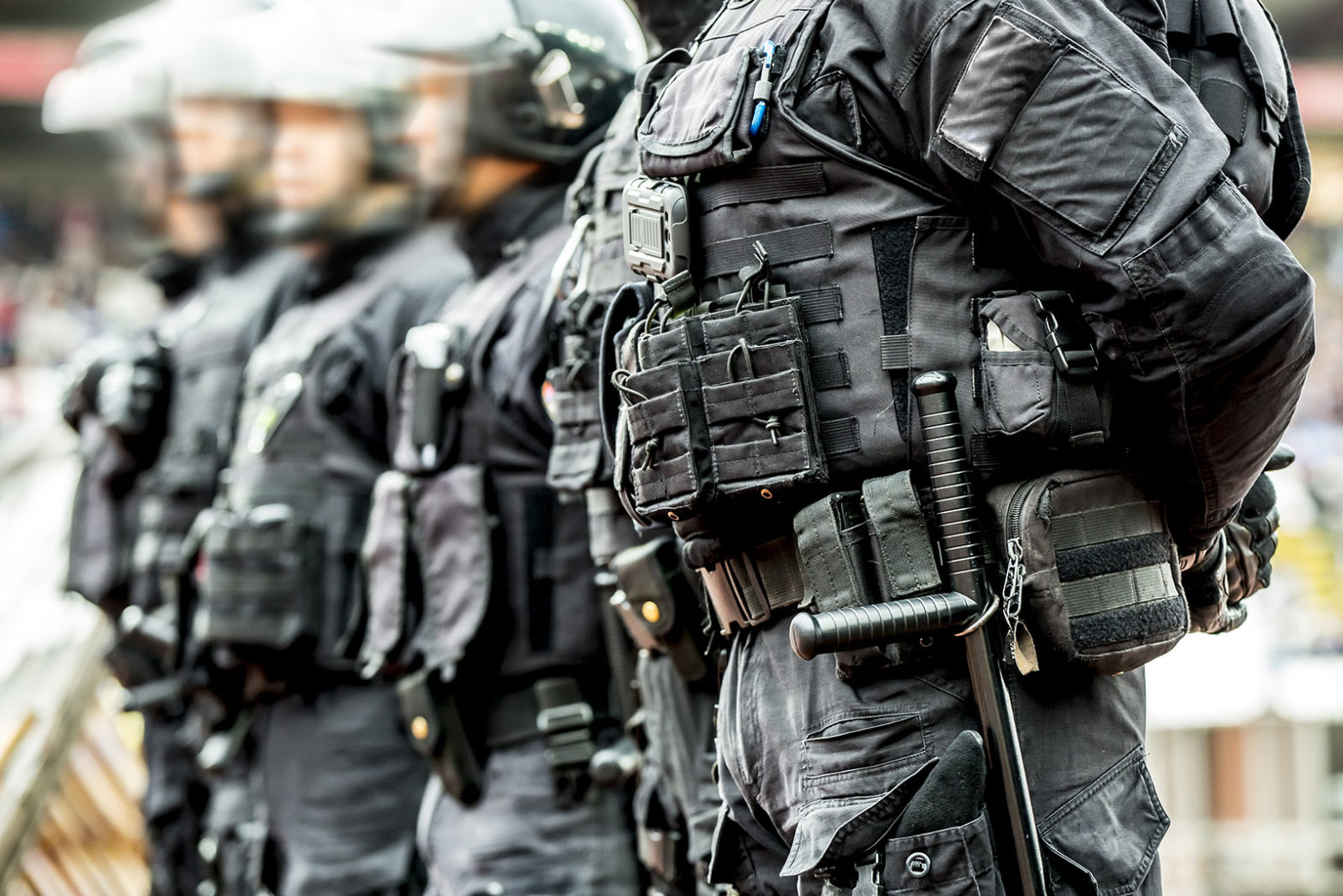 Terrorism police